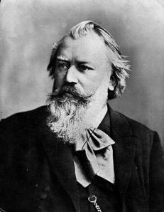 Johannes Brahms. Photo by C. Brasch