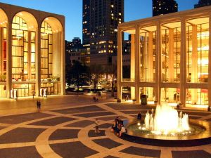 Lincoln Center for the Performing Arts. Photo by Nils Olander
