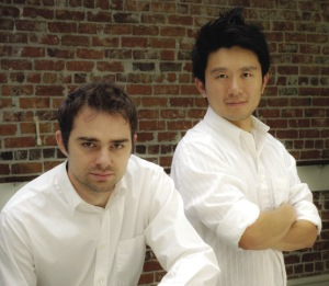 Aaron Jafferis, left, and Byron Au Yong. Image courtesy of the International Festival of Arts & Ideas.