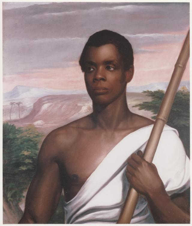 Joseph Cinque, Nathaniel Jocelyn, c. 1840, oil on canvas. Gift of Robert Purvis, 1898. Collection of New Haven Museum.