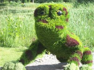 """""""Fragile Frogs,"""" Atlanta Botanical Garden."""